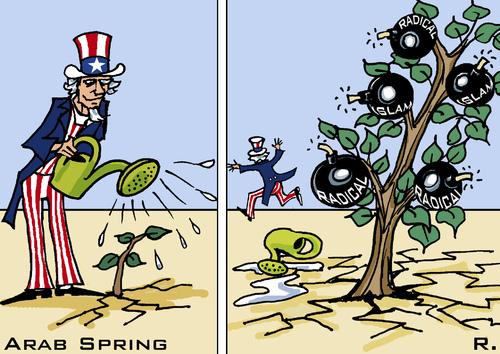 Arab-spring-caricature